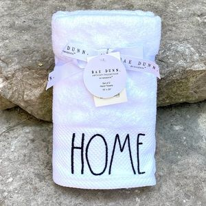 Rae Dunn HOME Set of 2 Hand Towels